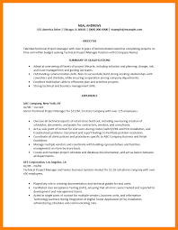 Technical Project Manager Resume Group Sales Manager Resume Free
