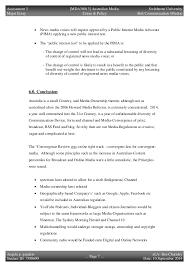 aus media crime policy major essay media reform n media crime policy 9