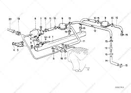 Bmw convertible bmw e30 parts diagram valves pipes of fuel injection system for bmw