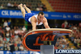 vault gymnastics gif. French Gymnast Samir Ait Said Broke His Leg On The Vault Live Television, \u0026 It Was Pretty Horrific Gymnastics Gif