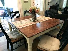 farmhouse table with leaves farm table with self storing leaves