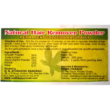 hair removal powder
