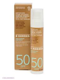 <b>Солнцезащитный антивозрастной крем</b> для лица, 50 мл Korres ...