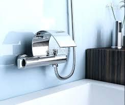 wall mounted waterfall tub faucets wall mounted