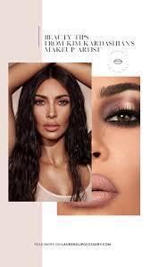 beauty tips from kim kardashian s makeup artist