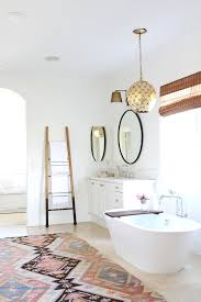 white bathroom with vanity tub becki owens get the look las palmas project master bathroom a