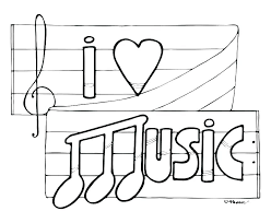Music Notes Colouring Sheets Music Note Coloring Pages Notes Drawing