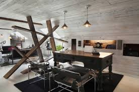 rustic office design. Rustic Modern Home Office Design N