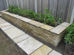 Small Picture Raised Beds gardening with quartz stone Owen Chubb Garden