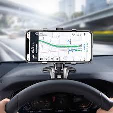 <b>LEEHUR Universal Car</b> Phone Holder Car Rear View Mirror Stand ...