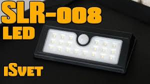 обзор isvet slr-008 3w <b>светильник</b> на солнечной батарее
