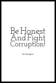 Anti Corruption Slogans And Corruption Quotes TheFreshQuotes Awesome Corruption Quotes