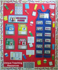 Classroom Helpers Pocket Chart Classroom Bulletin Board Displays