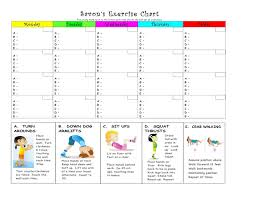 Personal Exercise Charts Realotsolutions