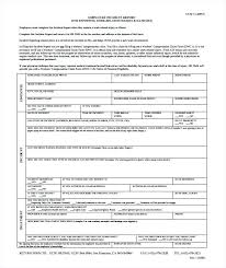Employee Accident Report Form Template Work Incident Report
