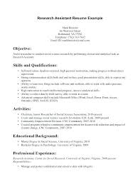 Research Associate Resume Sample Market Research Resume Market