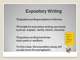 expository writing expository writing workshop ppt  4 expository
