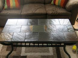 paint slate coffee table
