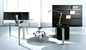 executive glass office desk. Glass Executive Desk Contemporary Minimalist Office A