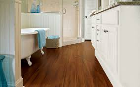 image of dupont laminate flooring bathroom