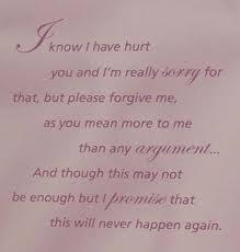 apology e