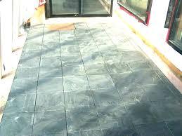 concrete tiles outdoor look