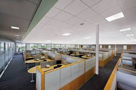 office lighting solutions. Overhead Panel Lighting In Office Solutions