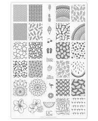 UberChic Nail Stamp Plates - Collection 9 - Includes 3 Unique Nail ...
