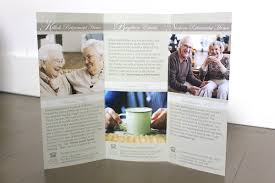 Designing A Retirement Home Brochure Design For Retirement Home On Behance