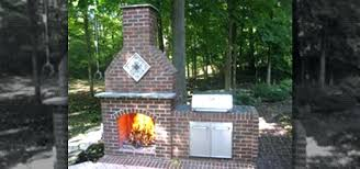 outdoor fireplace for wood deck build your own outdoor fireplace kit how to an on a