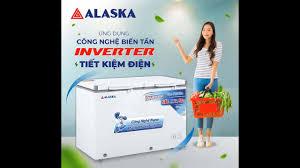 Tủ đông mát Alaska Inverter FCA 3600CI dung tích 360 lít - YouTube