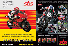 Motorcycle Brake Pad Cross Reference Chart 2017 Sbs Catalogue By Monza Imports Issuu