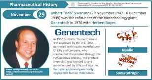 Genentech Organizational Chart Pharmaceutical History November 29th