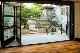 inspiring accordion glass doors and contemporary accordion glass doors patio architects modern deck