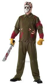 Lovely Deluxe Jason Mens Costume | All Mens Halloween Costumes | Mega Fancy Dress