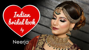 indian bridal look by neerja neer jazz makeovers best makeup artist in delhi