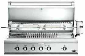 traditional grill with rotisserie griddle and hybrid infrared burner outdoor built in electric