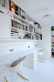 Home office storage decorating design Pinterest Gorgeous Eames Rocker Adds To The Scandinavian Style Of The Home Office In Scottish Residence Safest2015info 50 Splendid Scandinavian Home Office And Workspace Designs