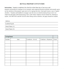 Property Inventory Template Free Download Template Landlord Inventory Template Word For Landlords Issue Form