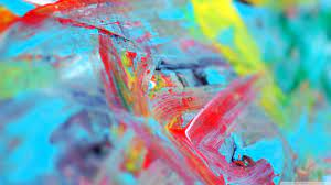 Abstract Painting Ultra HD Desktop ...