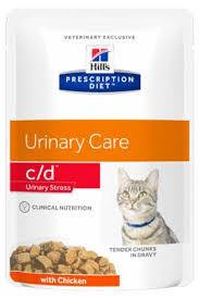 Диетические <b>консервы</b> для кошек <b>Hills Prescription Diet</b> Feline c/d ...