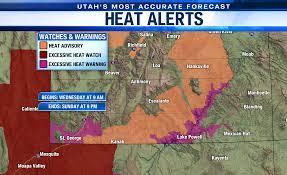 Utah Heat Wave 2021: Extreme heat on ...