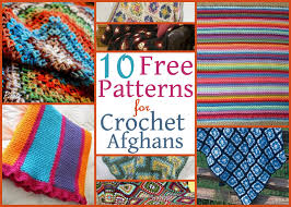 Crochet Afghan Patterns Free