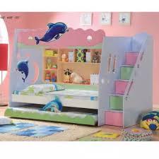 cartoon bunk bed. SmartDeco: Cartoon Bunk Bed (Dolphin - Single + Single)- Export T