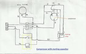 ac compressor wiring diagram valvehome us compressor wiring diagram single phase at Compressor Wiring Diagram