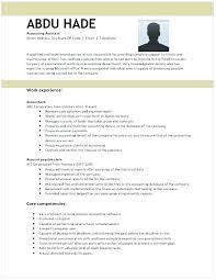 Accounting Specialist Resume New Resume For Accountant Assistant Accounting Assistant Resume