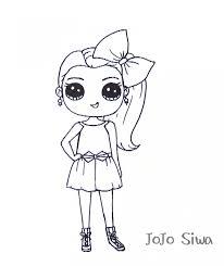 Jojo Siwa Coloring Sheets Free Printable Desk In 2019 Jojo Siwa