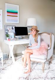 incredible pink office desk beautiful home. White And Pink Office Incredible Desk Beautiful Home