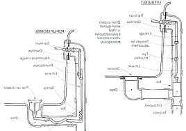 how to install a bathtub drain and trap p trap installation bathtub drain trap diagram of