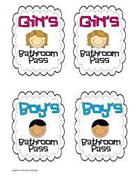 bathroom pass bathroom pass template bathroom pass pdf